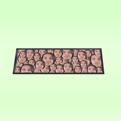 Face All Over Personalised Bar Runner