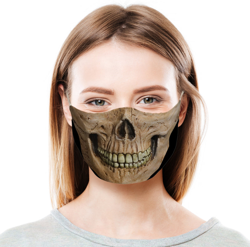 Fear the Reaper Skull Protective Face Mask