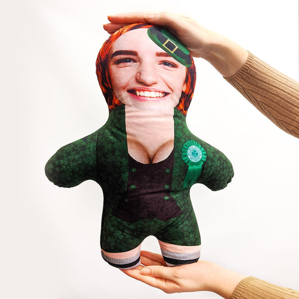 st patricks female leprechaun mini me doll
