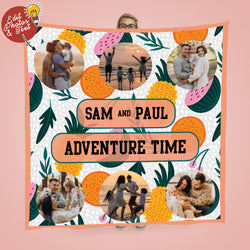Summer Adventure - Photo Fleece Throw
