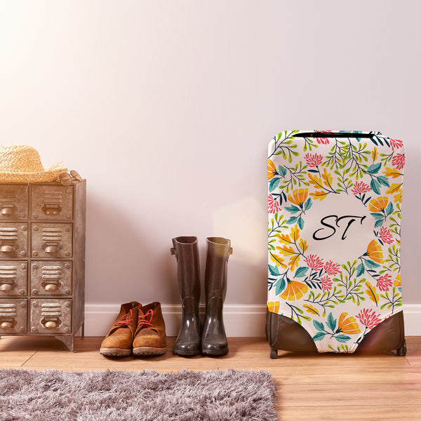 Personalised Floral CaseSkin - Large