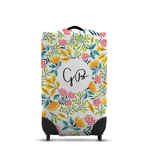 Personalised Floral CaseSkin - Medium
