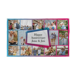 Personalised Occasion Photo Banner | Custom Photo Banner