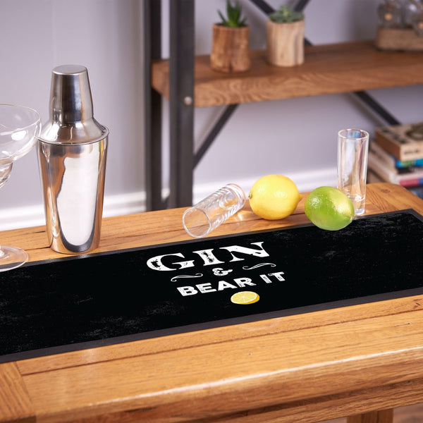 Personalised Bar Runner