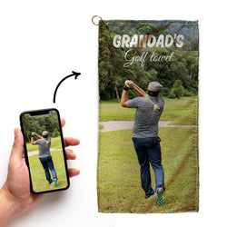 Create Your Own - Golf Towel
