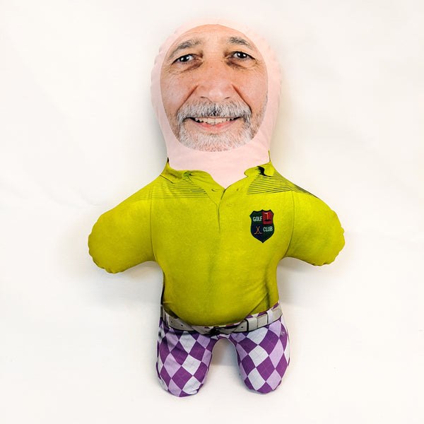 golfer mini me doll
