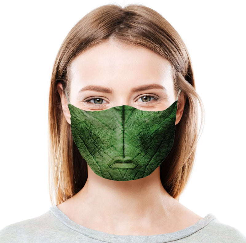 Alien - Green Protective Face Mask