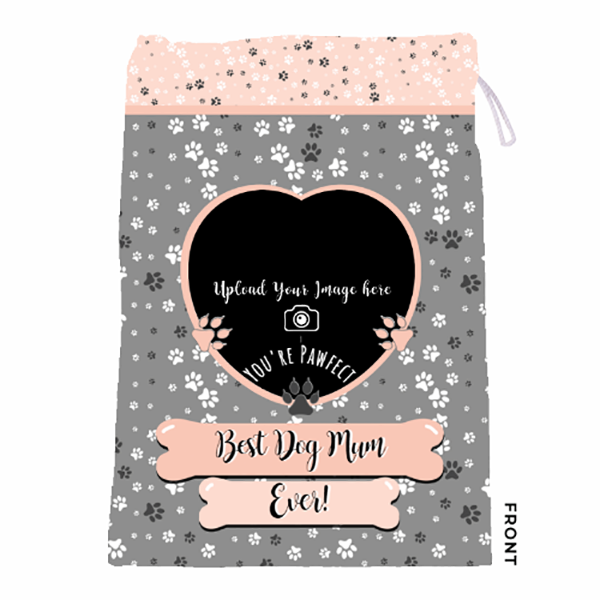 Personalised Dog Mum - Laundry Bag