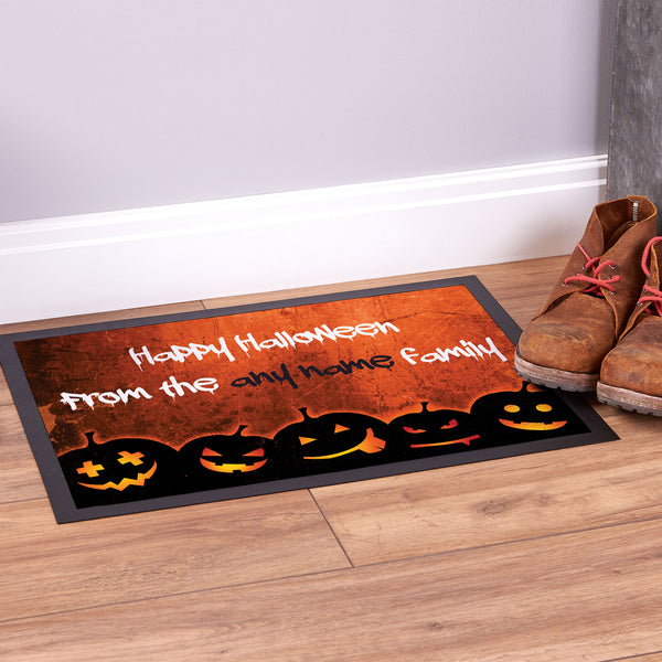 Happy Halloween Pumpkin - Door Mat