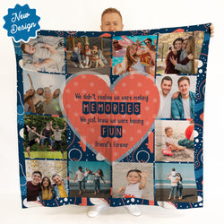 Making Memories -  Photo Fleece Blanket