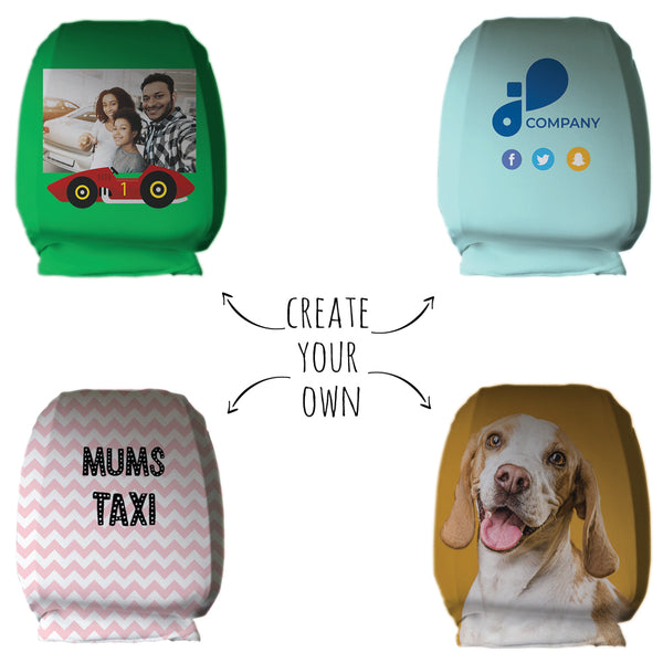 Create Your Own Head Rest Cover