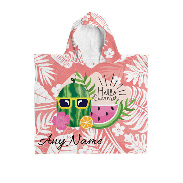 Personalised Hooded Towel