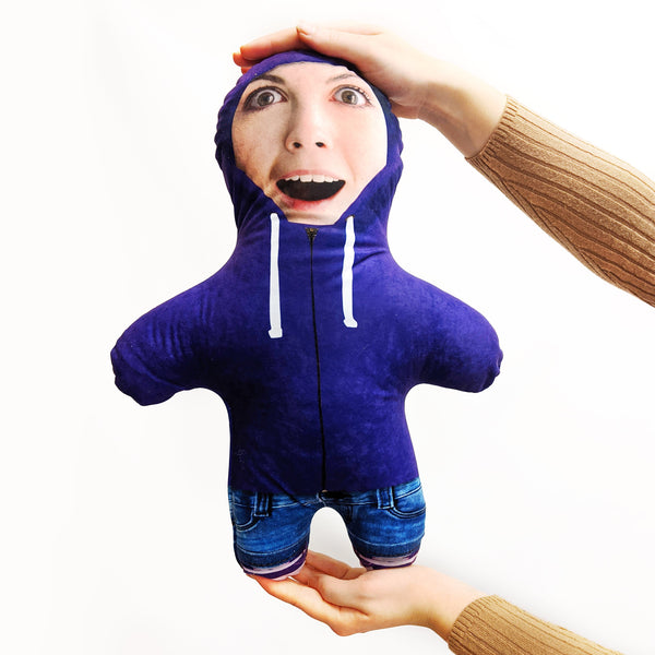 Purple Hoodie Mini Me Doll