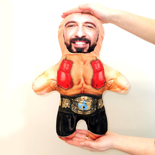 Boxer Mini Me Doll | Funny Photo Dolls
