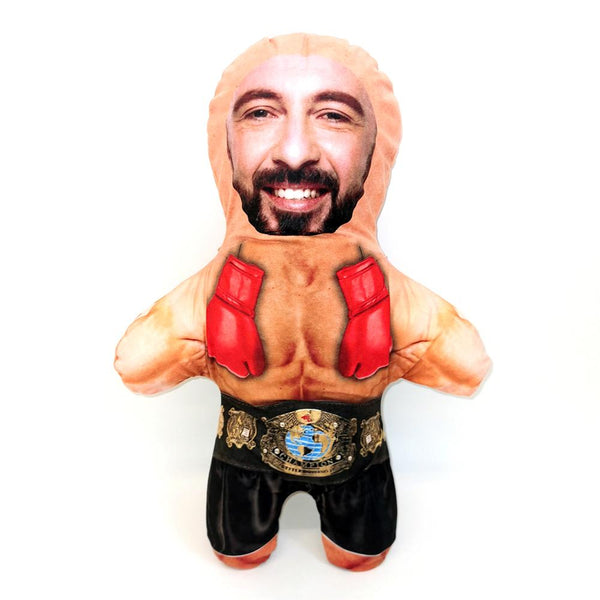 Boxer Mini Me Doll | Funny Personalised Doll