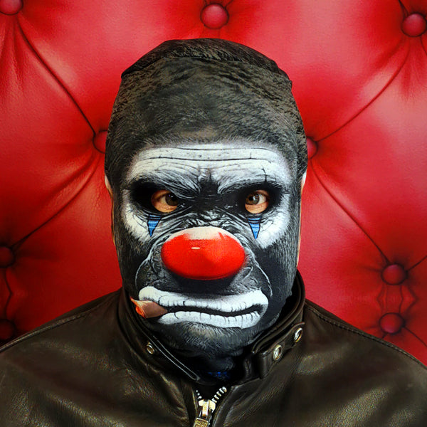 Cigar Monkey Halloween Mask