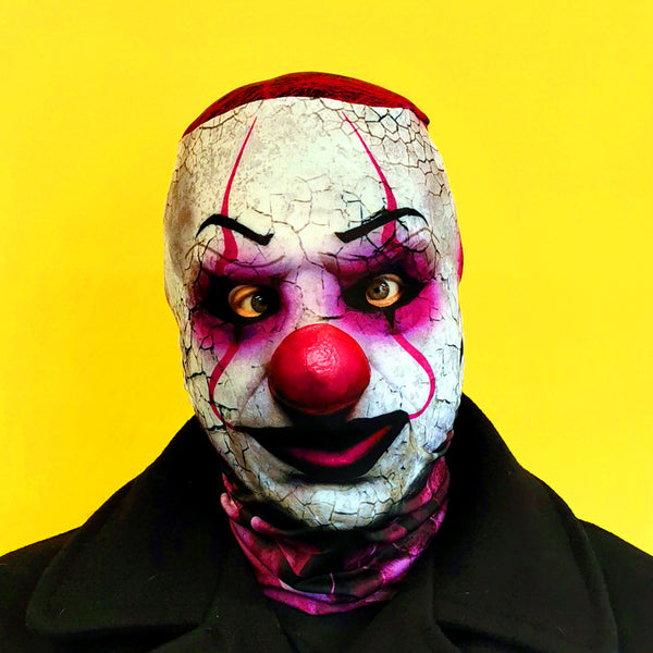 Ruffles the clown halloween horror mask