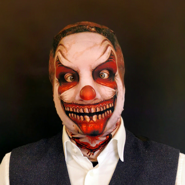 Ripped Grin Clown - Faceskin