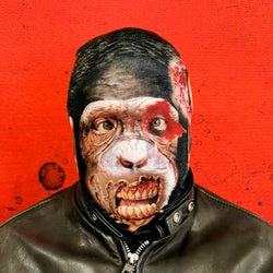 Creepy Chimpanzee - Faceskin