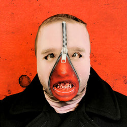 Bleeding Zip Mask Teeth - Faceskin