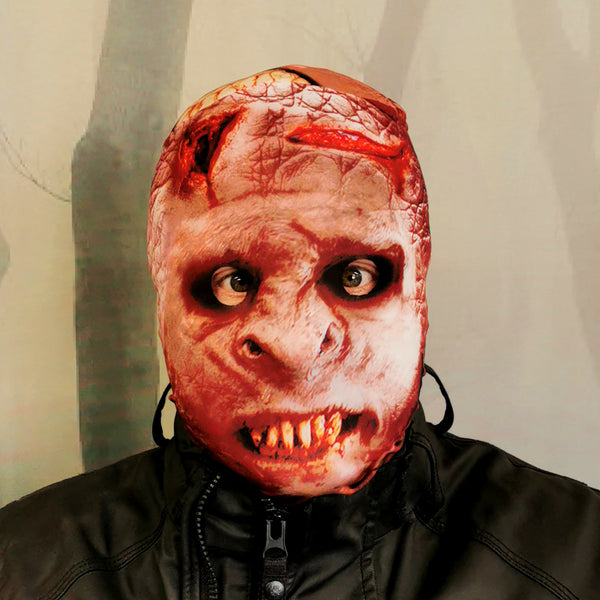 Red Orc Halloween Mask