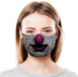 Clown - Pink Protective Face Mask
