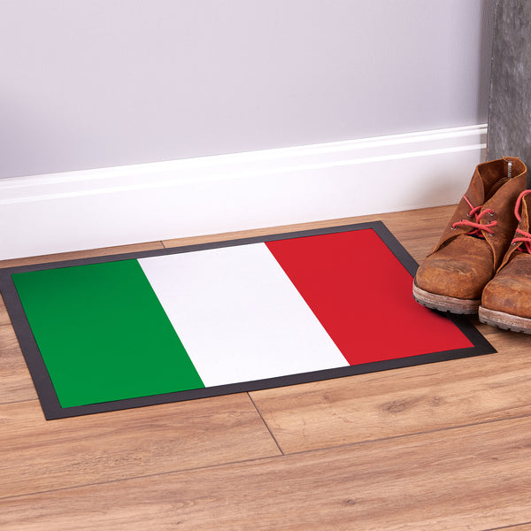 Italy Flag - Door Mat