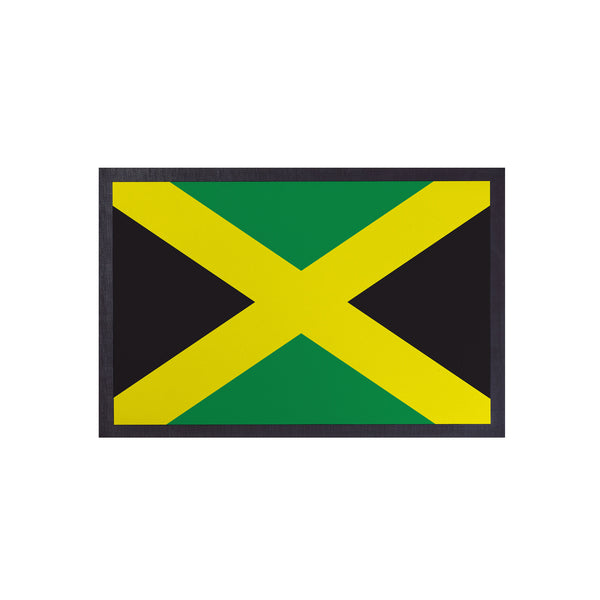Jamaican Flag - Door Mat