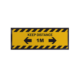 Personalised Bar Runner - Keep Distance 1m