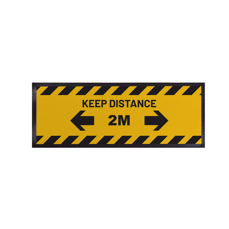 Personalised Bar Runner - Keep Distance 2m