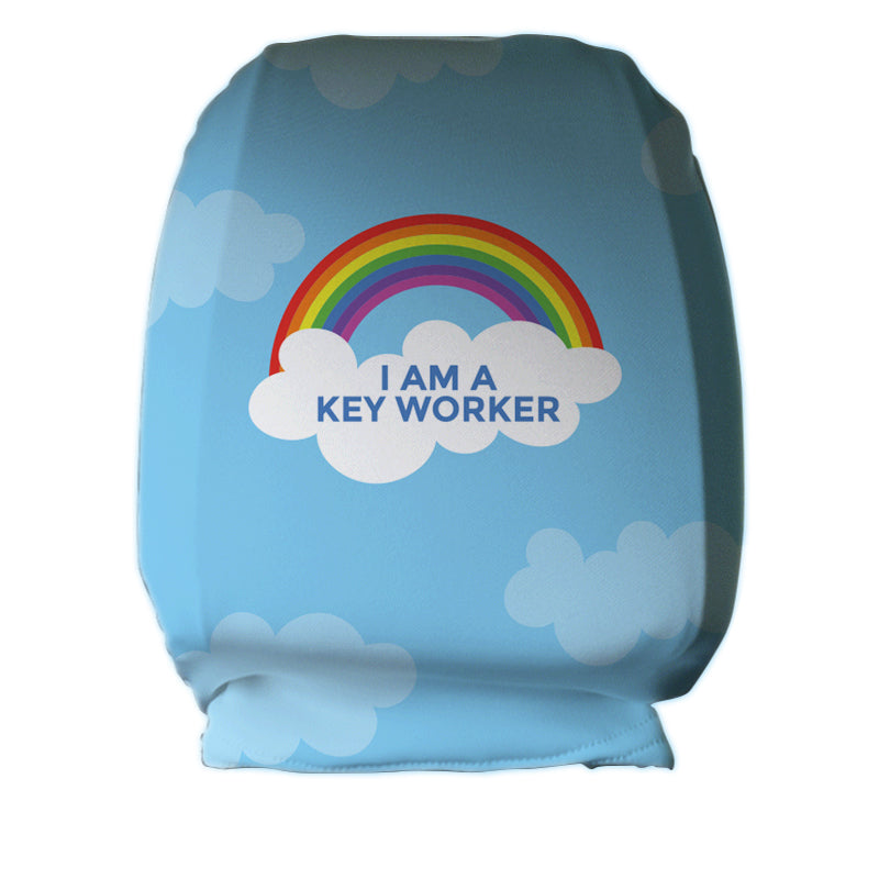 Key Worker Headrest Cover