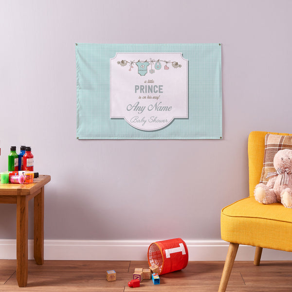 Boy Baby Shower Banner - 3ft x 2ft