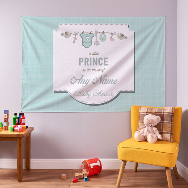 Boy Baby Shower Banner - 6ft x 4ft