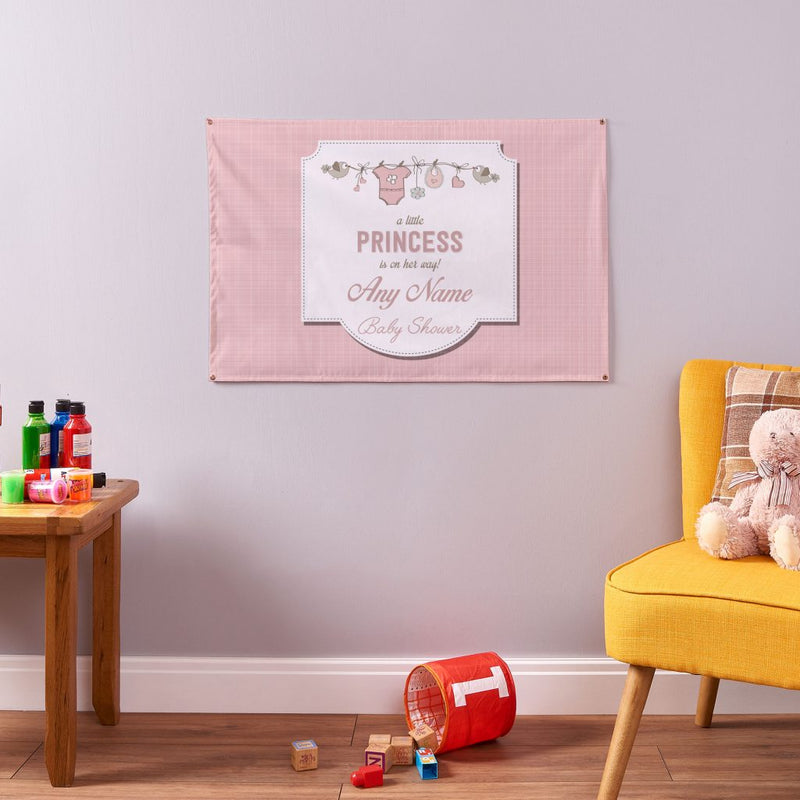 Girl Baby Shower Banner - 3ft x 2ft