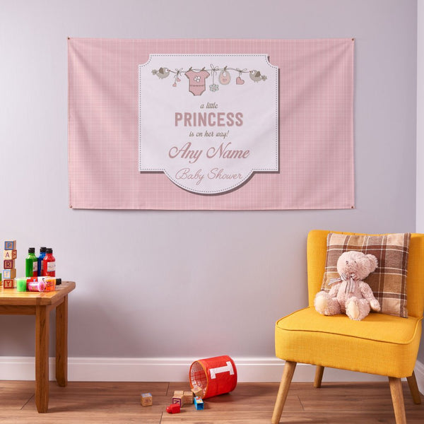 Girl Baby Shower Banner - 5ft x 3ft