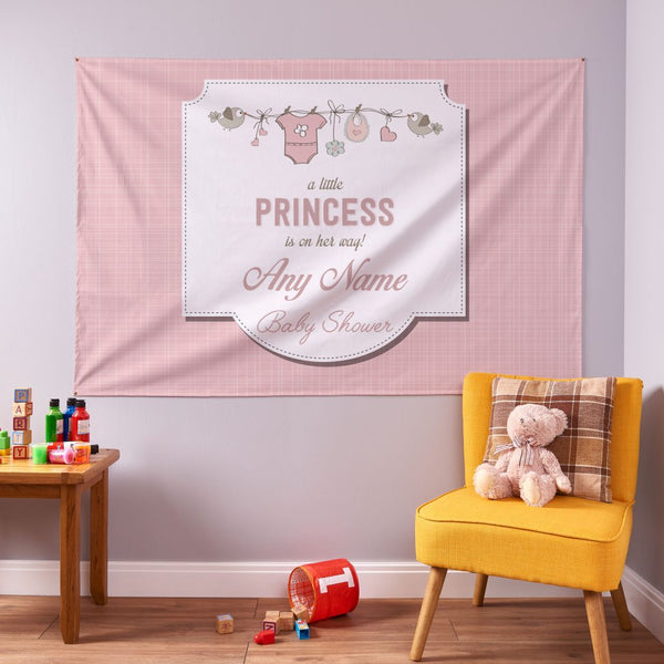 Girl Baby Shower Banner - 6ft x 4ft
