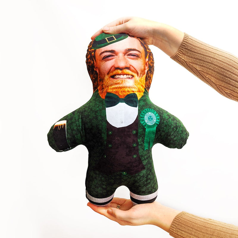 leprechaun st patricks mini me doll
