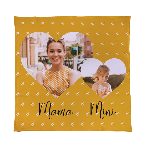 mothers day mama mini fleece blanket throw