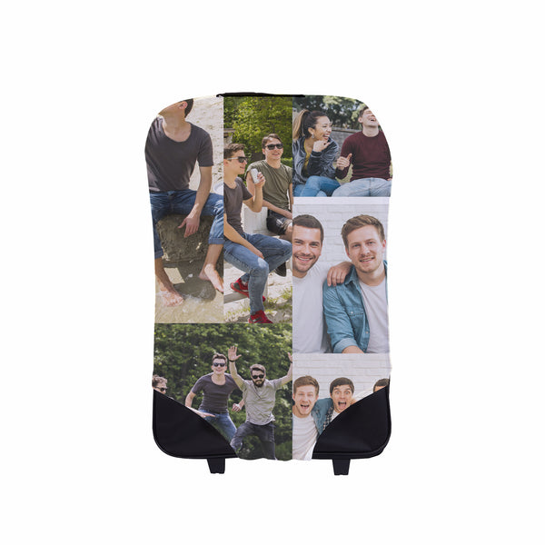 Photo Collage Suitcase Cover