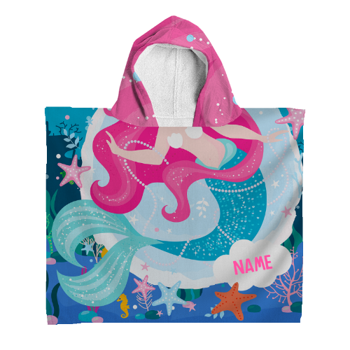 Personalised Kids Hooded Towel