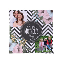 Personalised Photo Fleece Blanket Throw