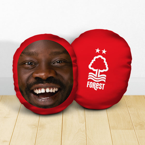 Personalised Nottingham Forest FC Crest - Mush Cush