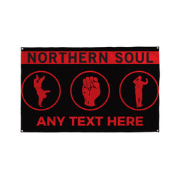 Northern Soul Bar Banner - 5ft x 3ft | Funny Pub Signs UK