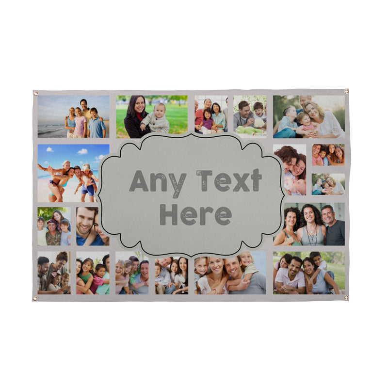 Create Your Own Banner | Personalised Photo Collage Banner UK