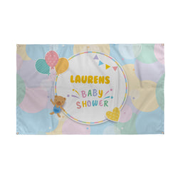 Neutral Baby Shower Banner - 5ft x 3ft
