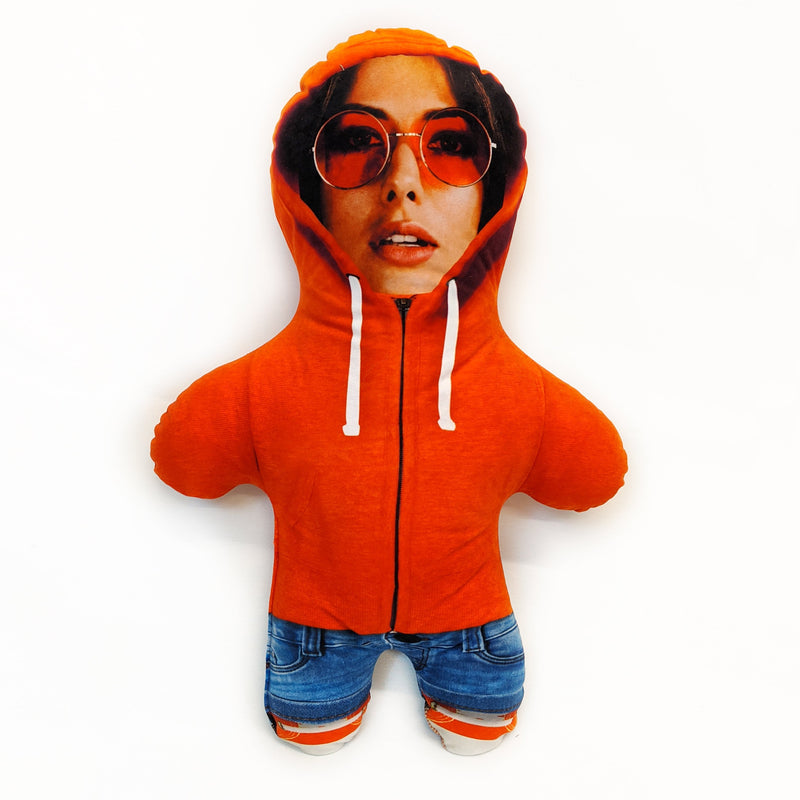 Orange Hoodie Mini Me Doll