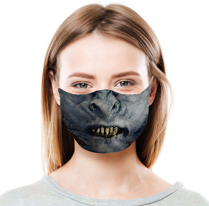 Orc - Blue Protective Face Mask