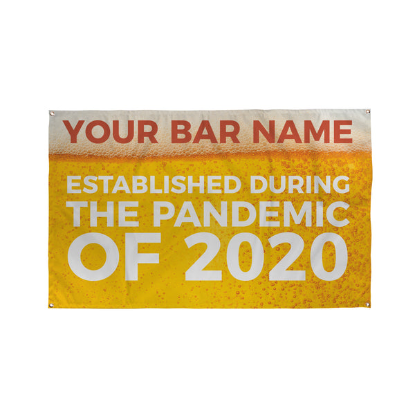 Pandemic Banner - 5ft x 3ft