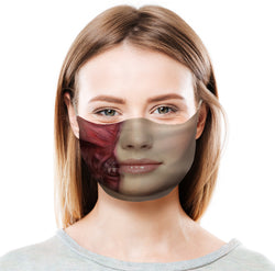 Peeled Face Protective Face Mask