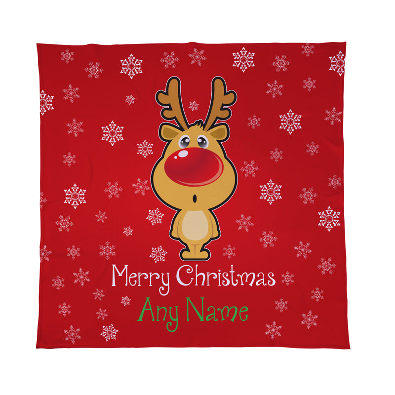 Personalised Fleece Blanket Throw
